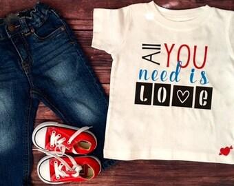 Baby Boy Valentine Shirt Newborn Valentine Outfit Boy