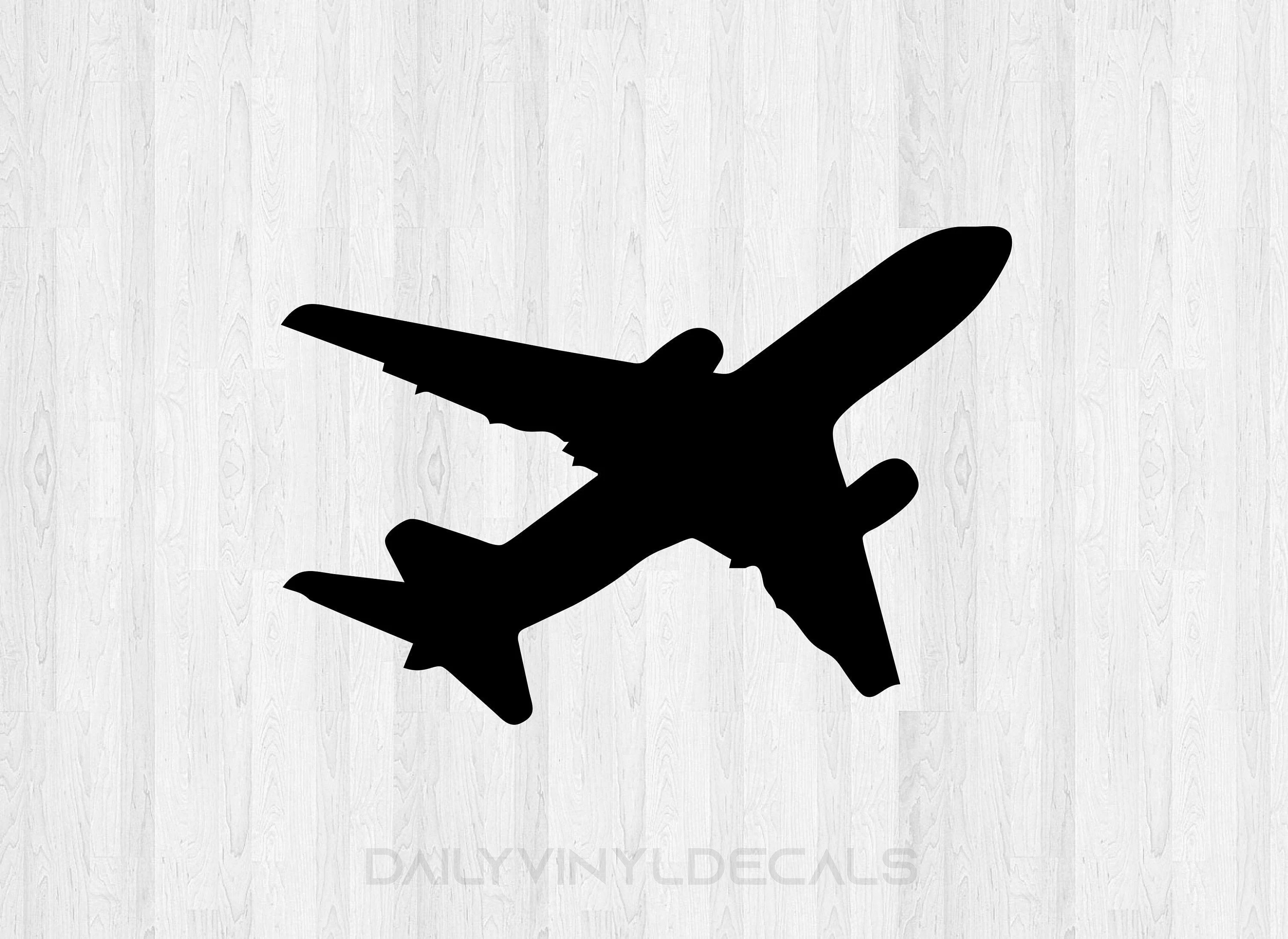 Commercial Airplane Decal Airplane Sticker