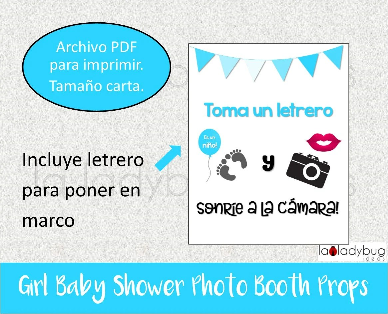 Carteles Para Fotos De Baby Shower Para Imprimir Gratis Free Printable
