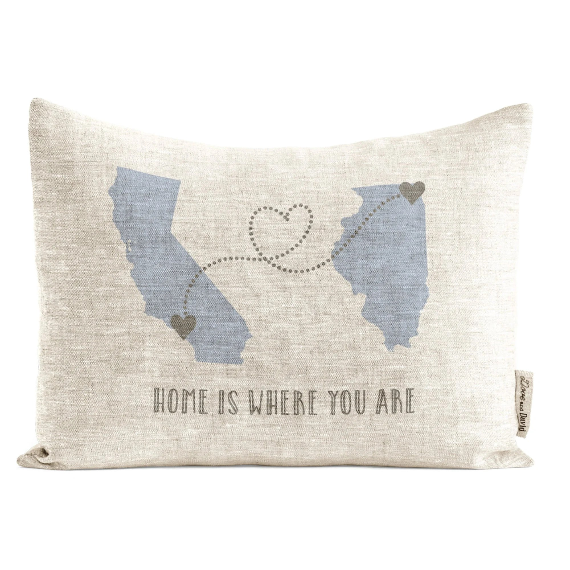 long distance relationship pillow etsy