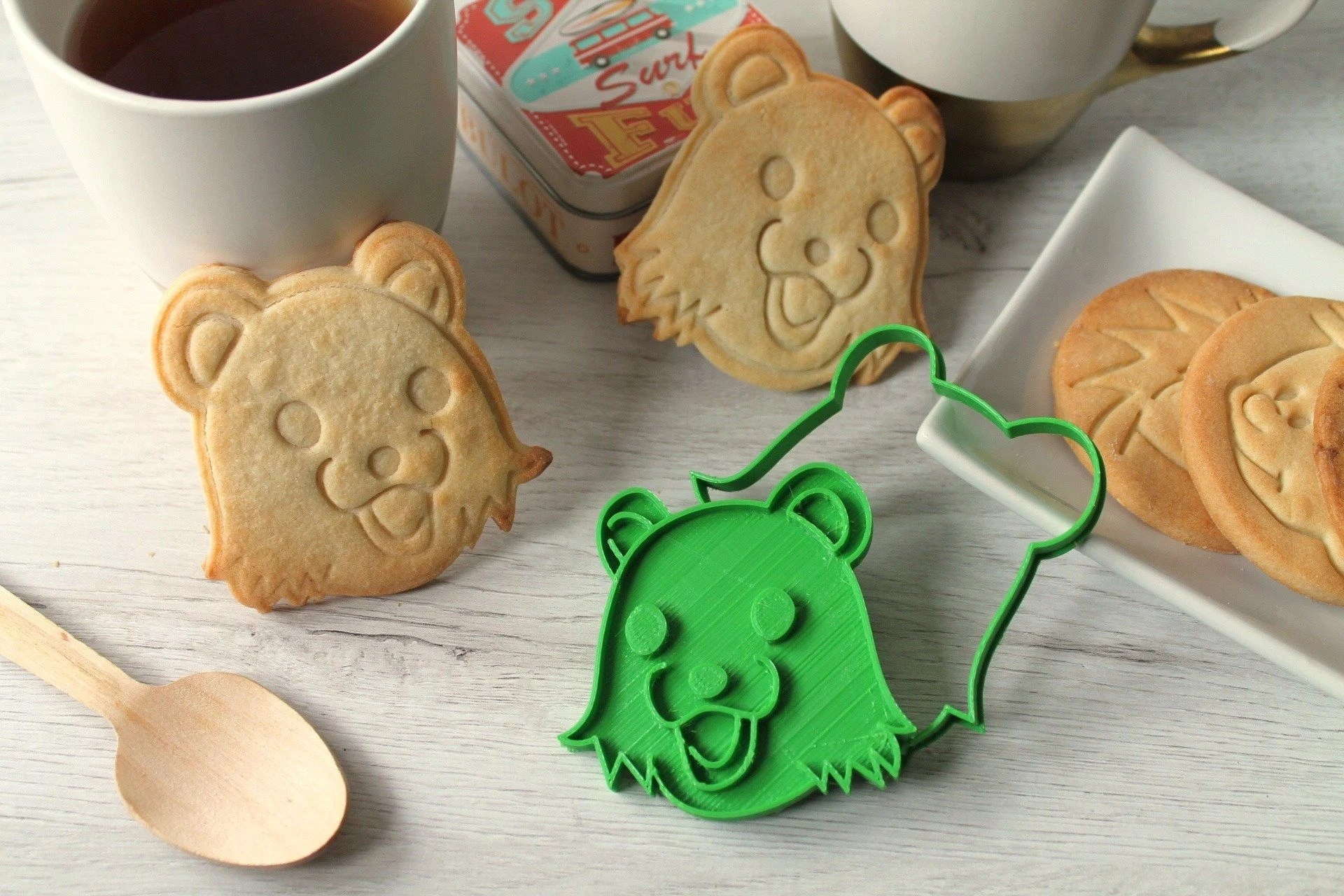 Cookie Cutter With The Shape Of The Famous Meme Pedobear Etsy