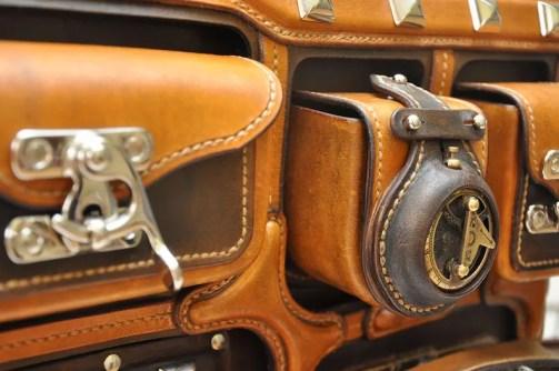 Steampunk Alchemist Leather Briefcase Handbag Manbag Doctors Bag. Created by Happy Margaret.