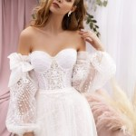Lace Wedding Dress Sweetheart Bridal Gown Romantic Rustic Etsy