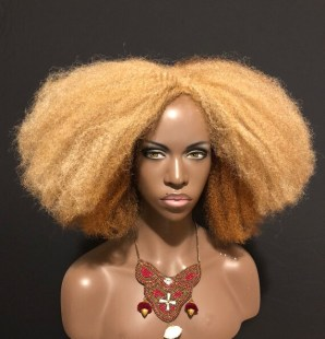 Image result for blonde afro