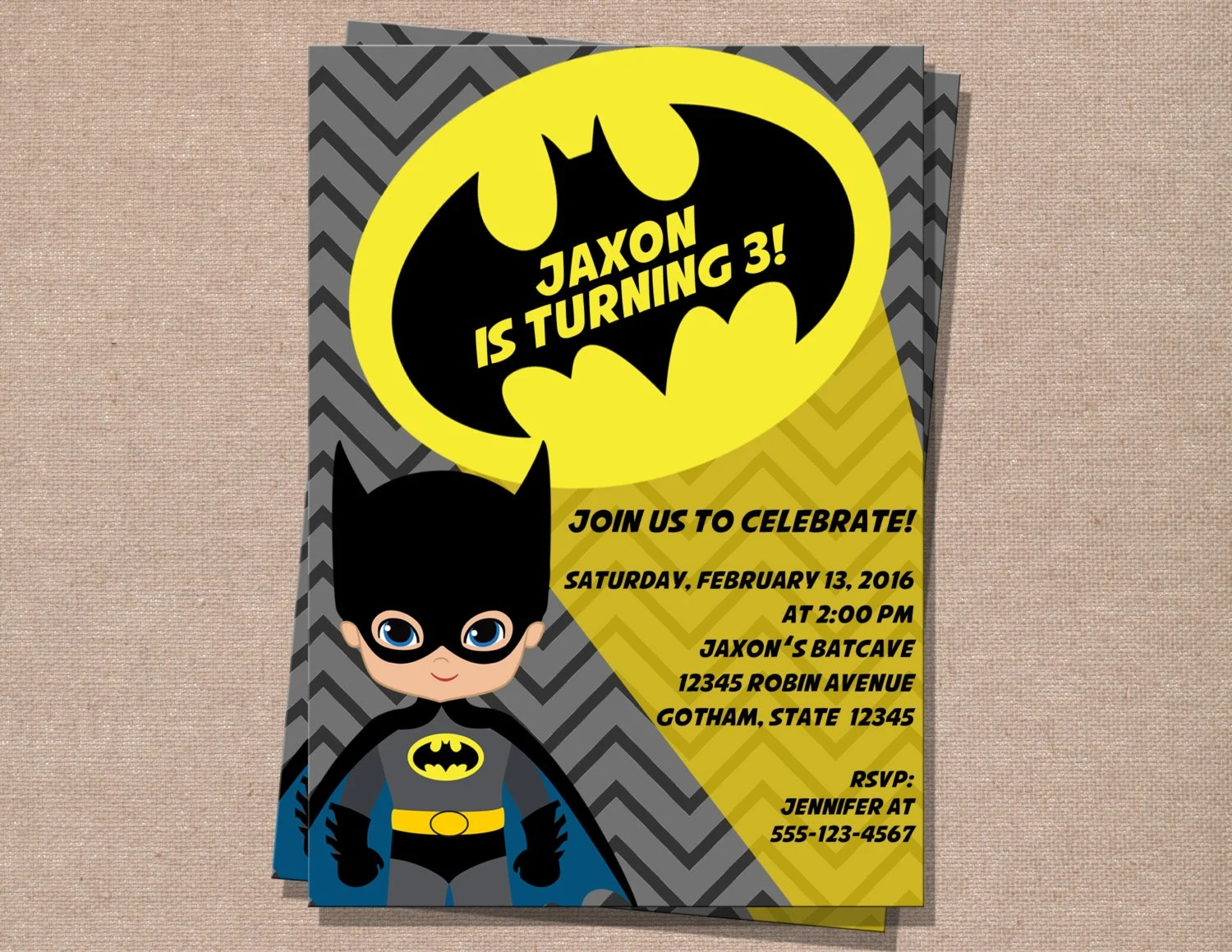 batman birthday invitation batman invitation boy birthday invitation batman printable invitation kids invitation
