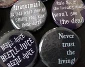Beetlejuice buttons 1.25&...