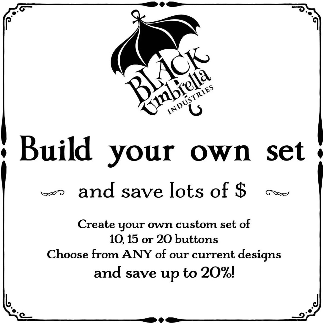 Create a custom set of bu...