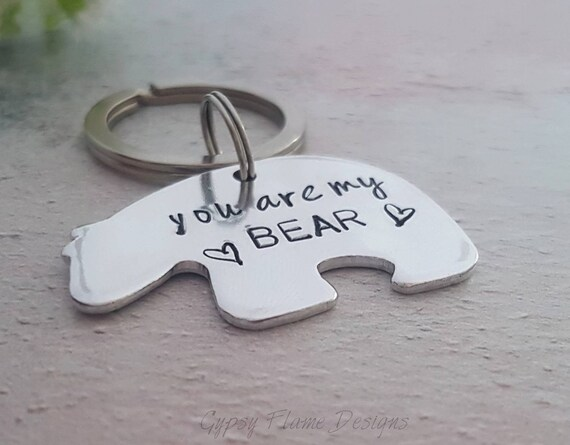 You're my bear keyring