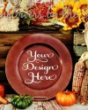 Mockup Charger Plate Plate Brown Dinner Thanksgiving Etsy