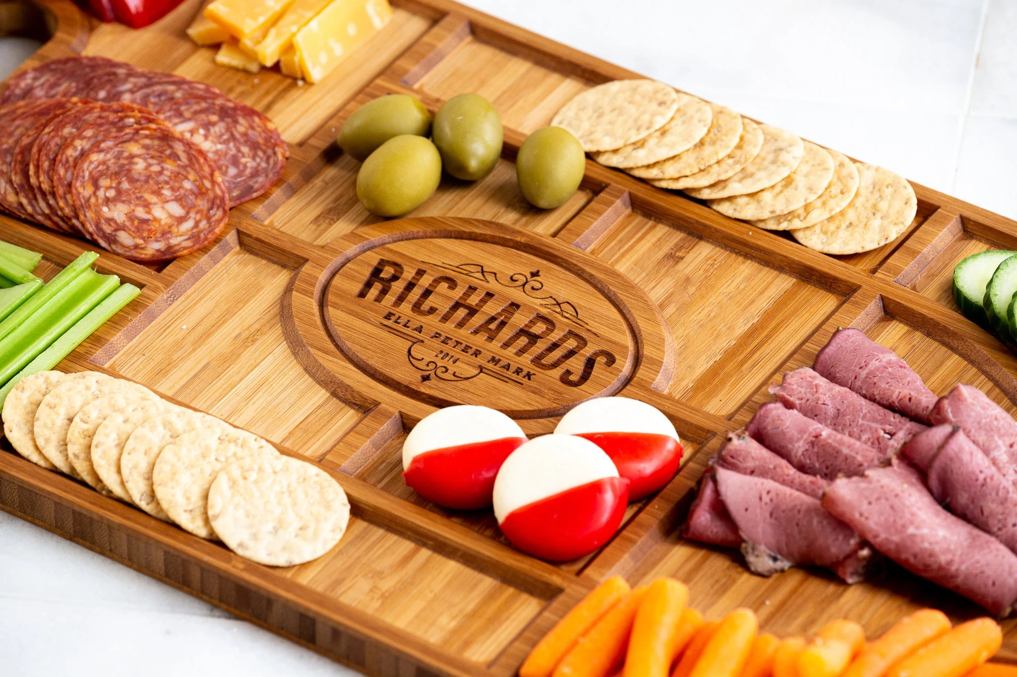 Personalized Charcuterie Planks and Beer Flights  4 Styles image 4