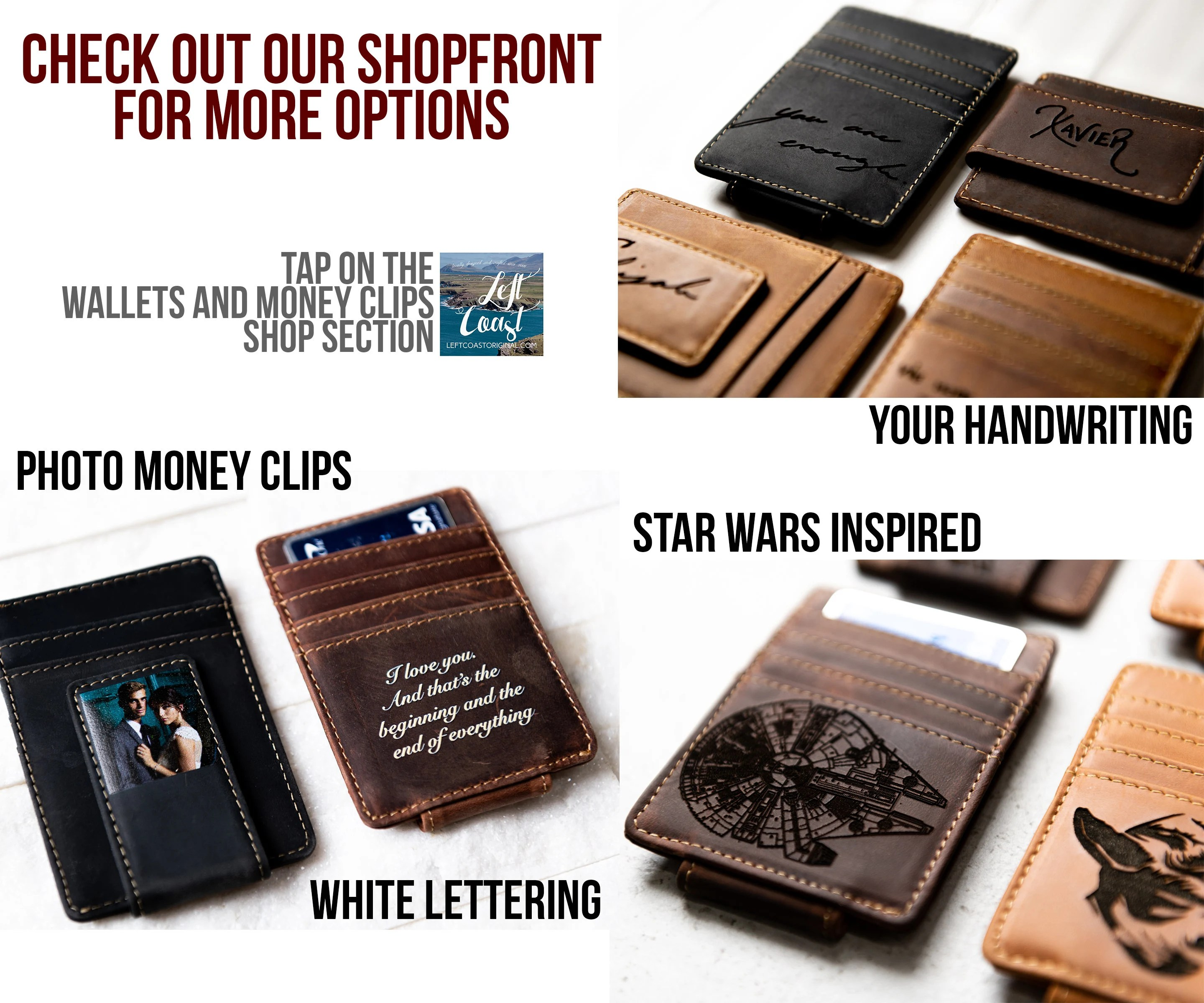 Personalized Leather Passport Cover Holder by Left Coast image 8