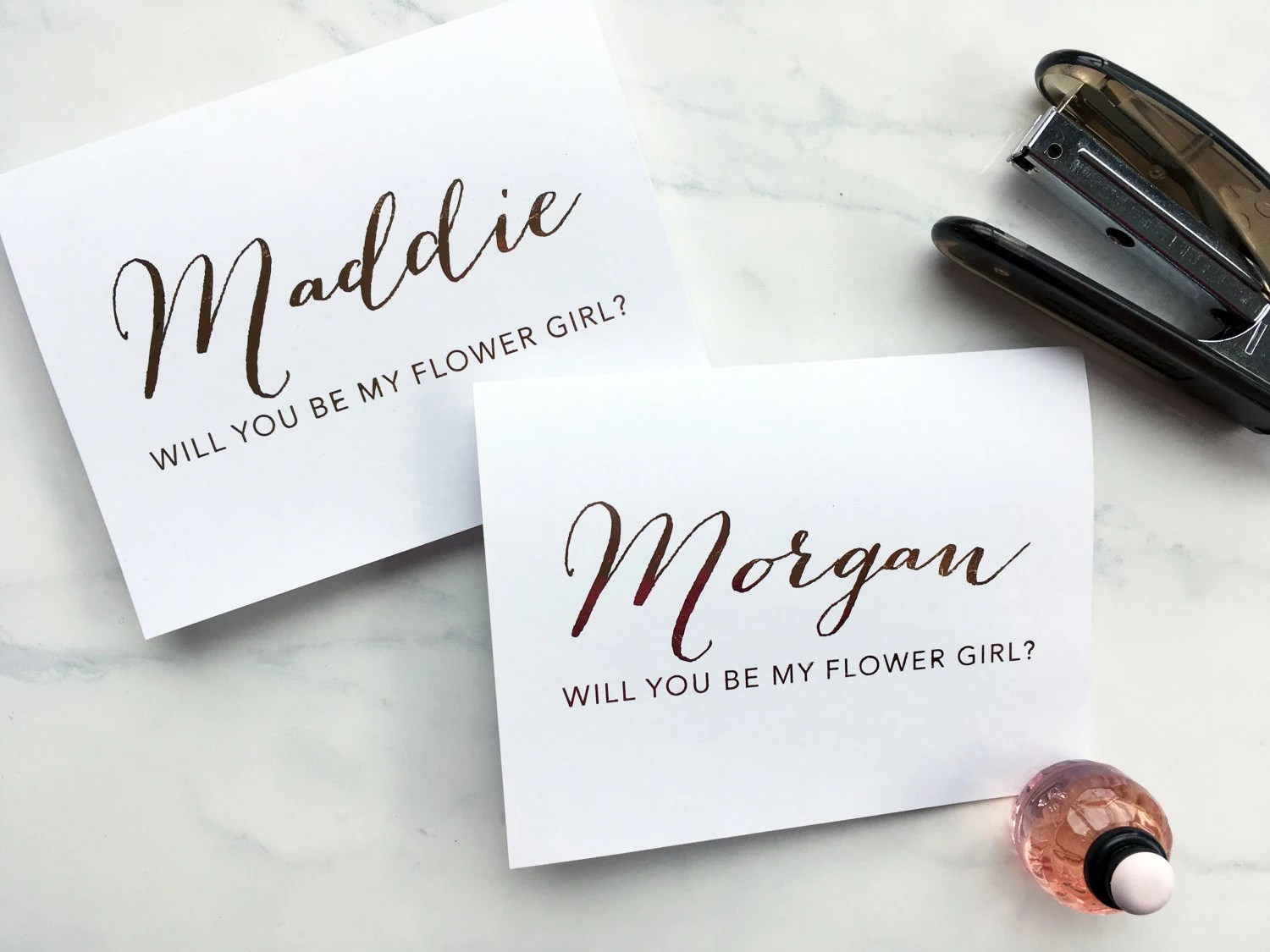Will you be my bridesmaid maid of honor matron of honor  image 4