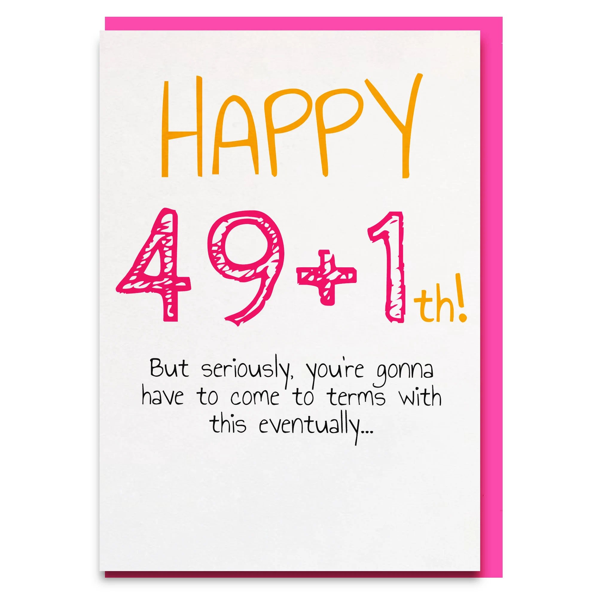 50th Birthday Card 50th Birthday Happy 50th Funny Birthday Etsy