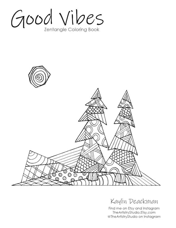 forest coloring page # 38
