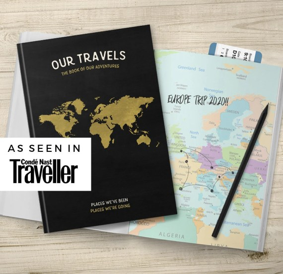 Family travel holiday journal