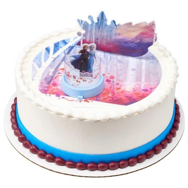 Frozen Ii Elsa Anna Figurine Decoration Decoset Cake Topper Etsy