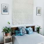 Large Macrame Wall Hanging Macrame Headboard Farmhouse Decor Bedroom Decor
