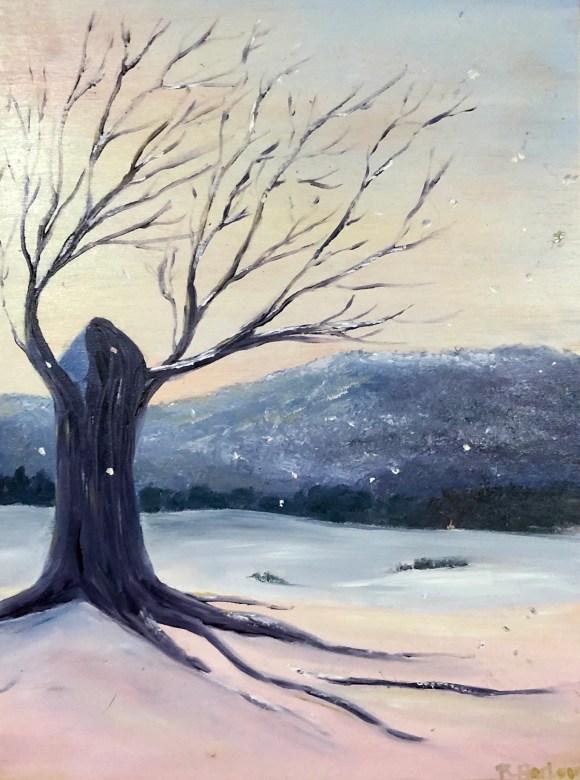 Winter Dreaming - Oil on ...