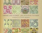 Colourful Art Nouveau Pat...