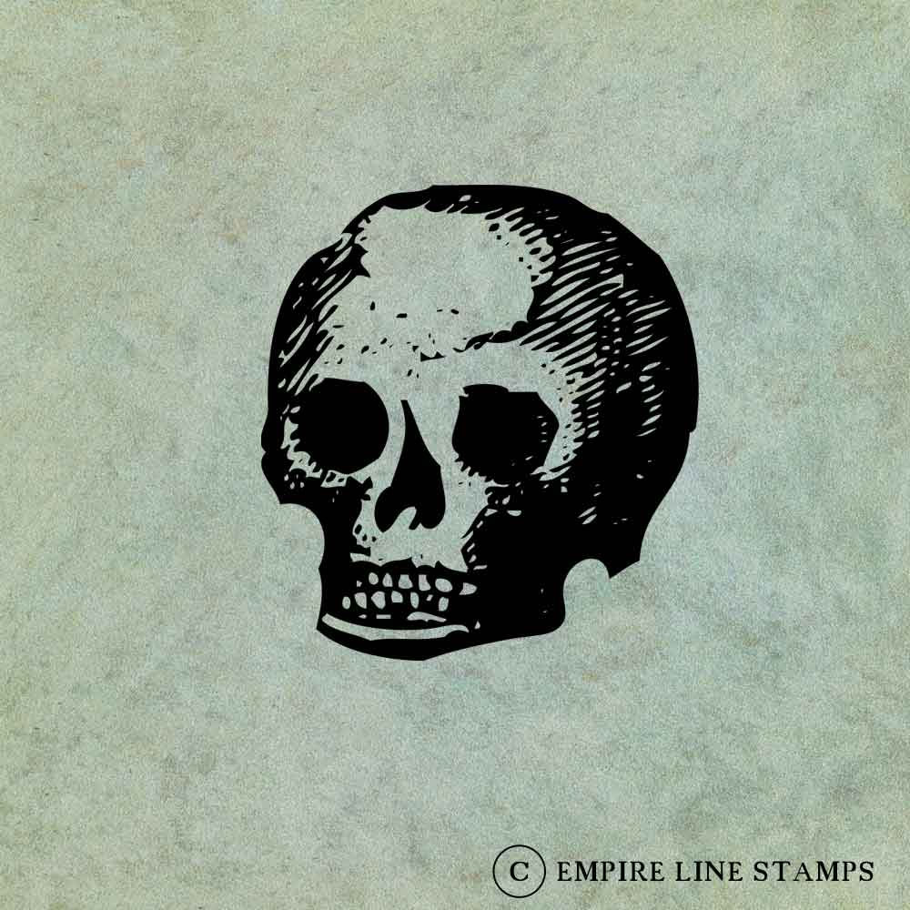 Primitive Skull - Antique...