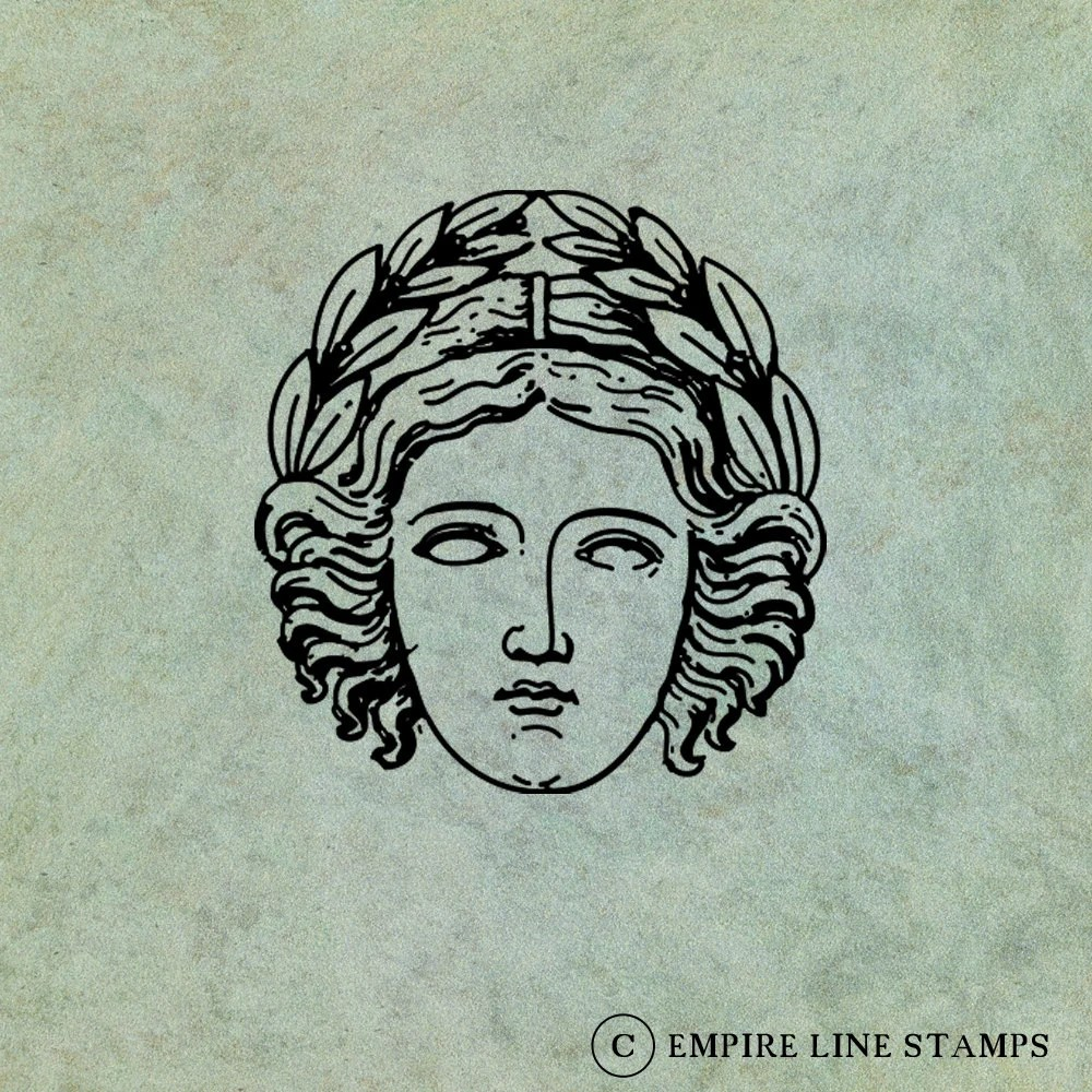 Greek Goddess Wearing an ...