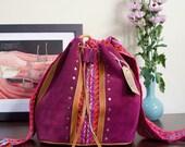 Ethnic bag, Bohemian buck...