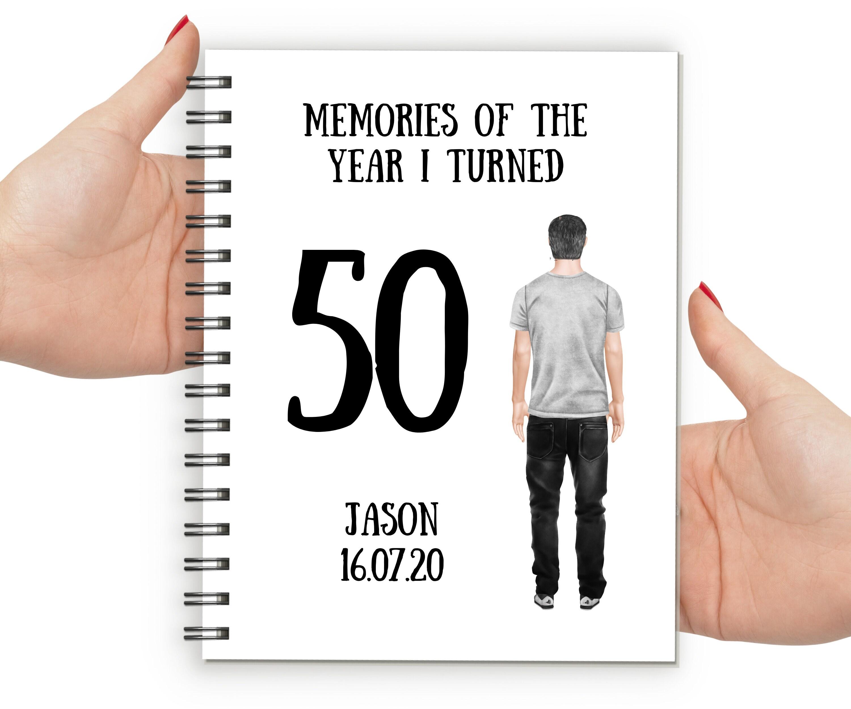 Personalised 50th Birthday Gift For Men 50th Birthday Gift Etsy