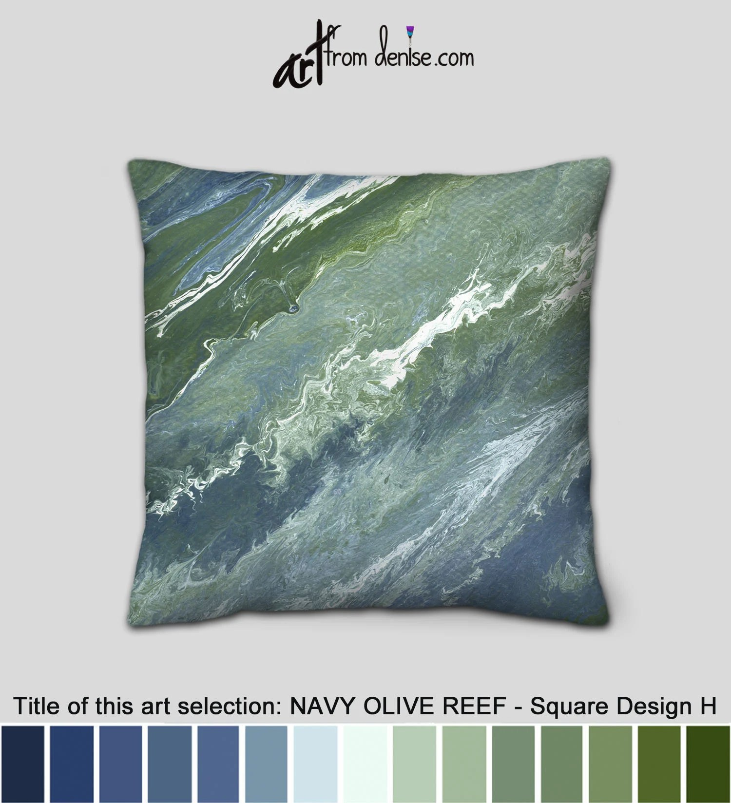 sage green and navy blue throw pillows for bed decor large couch pillows set decorative sofa cushion covers or outdoor pillows