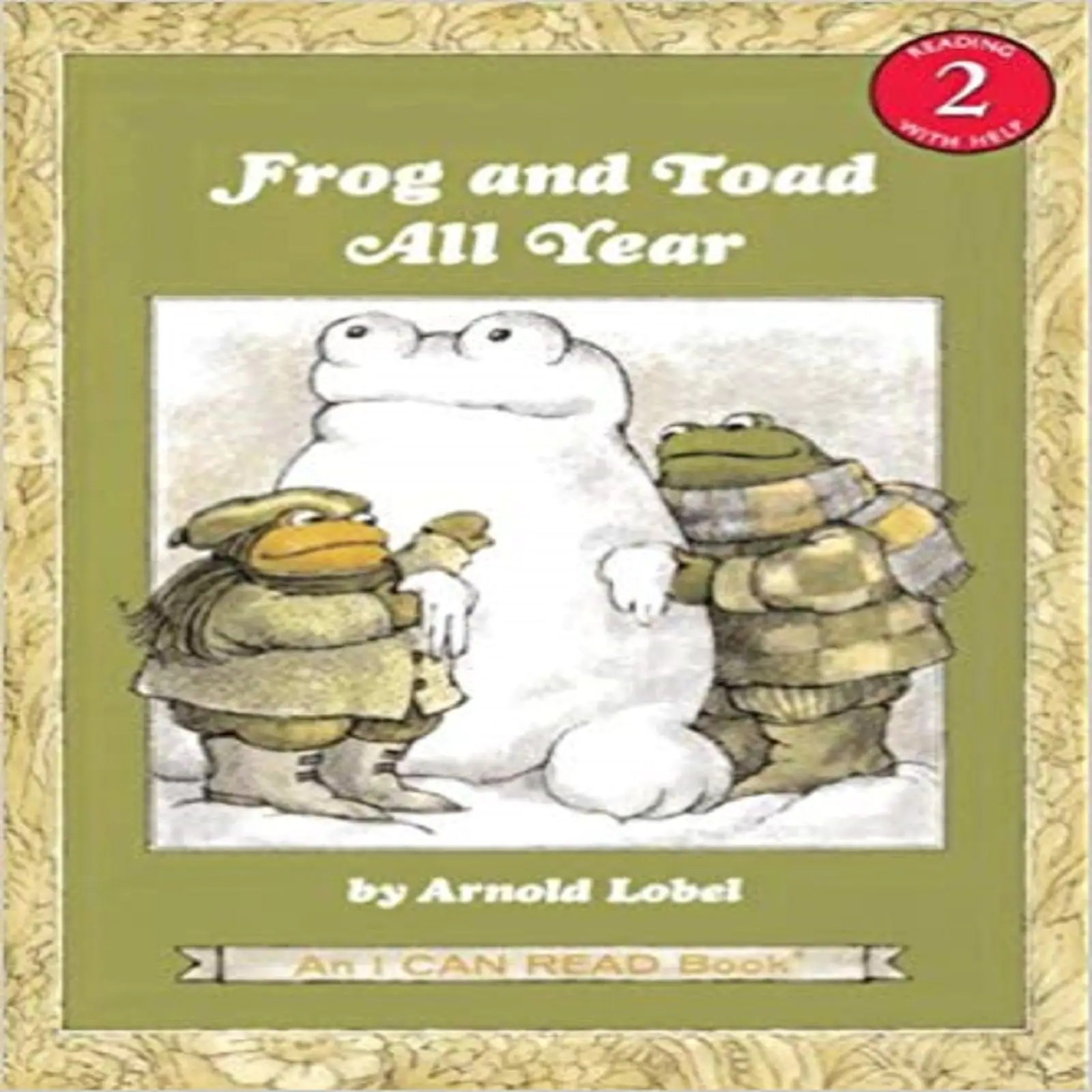 Frog And Toad All Year I Can Read Level 2