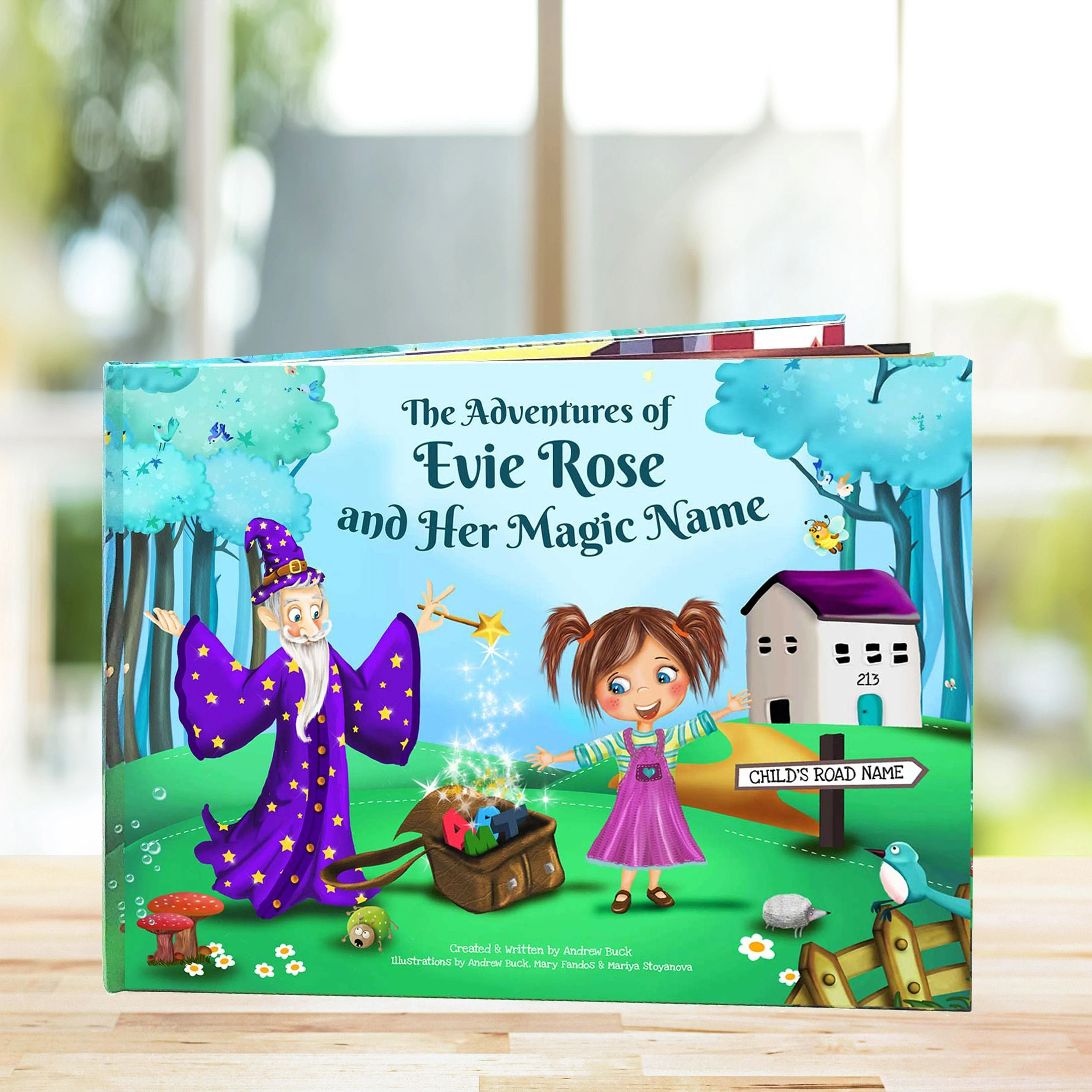 1st Birthday Gift A Fun Personalised Story Book Perfect Etsy