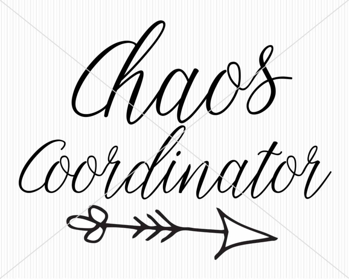 Download Chaos coordinator SVG digital file for Silhouette and ...