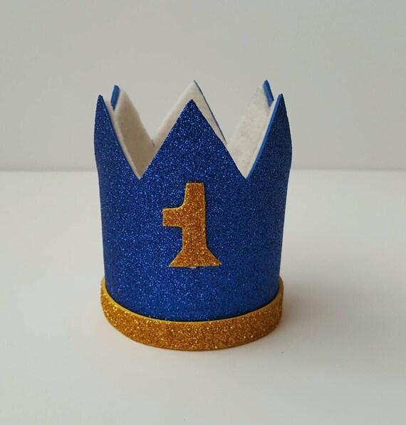 1st Birthday Crown Baby Boy Crown First Birthday Crown Etsy