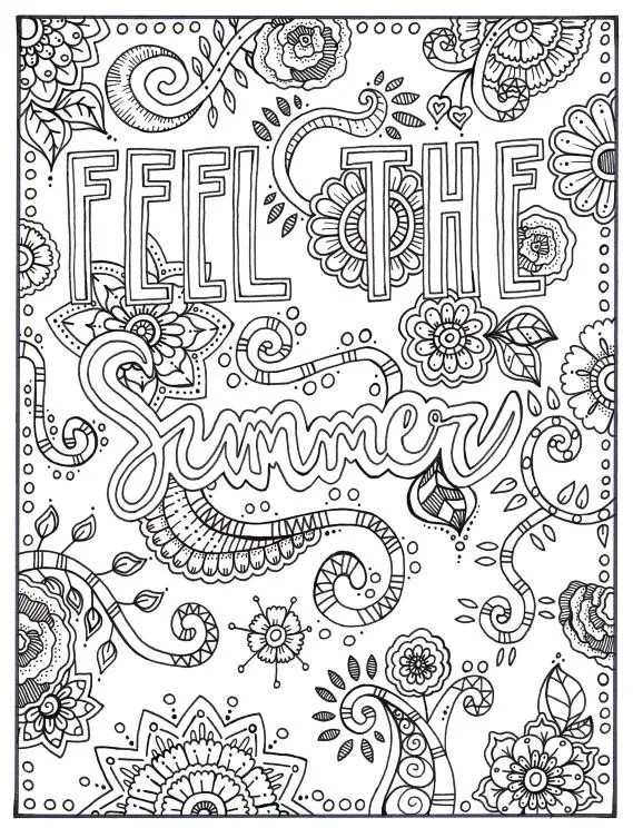 summer coloring pages printable # 67