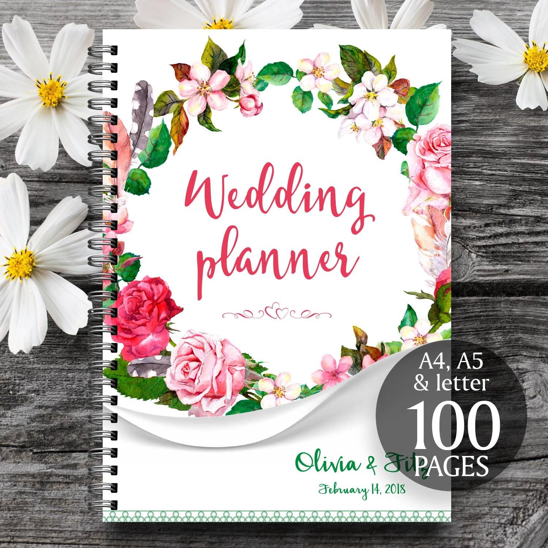 Wedding Planner Organizer Printable Wedding Planner