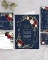 Wedding Invitation Printable Invitation Template Invitation Etsy