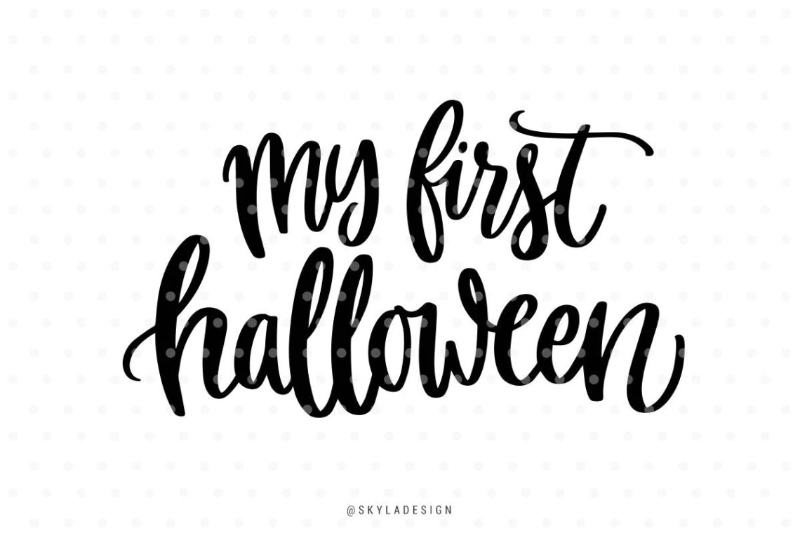 Download My first Halloween Svg files Fall svg Halloween Svg cut | Etsy