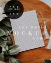 Invitation Card Mockup Instant Download 5x7 Card Mock Up Etsy