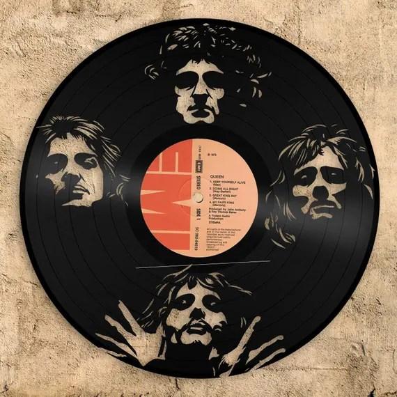 Queen vinyl wall art