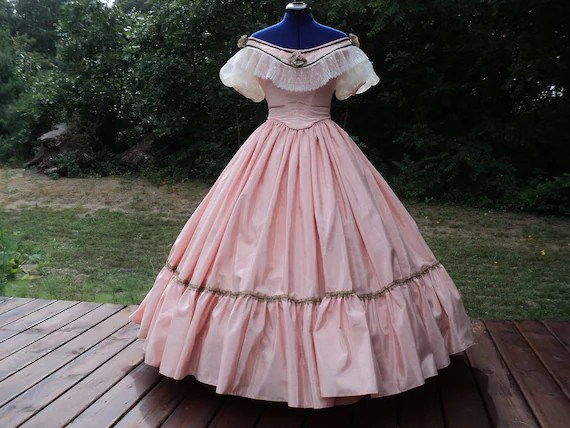 Civil War Ball Gown Custom Orders Victorian Ballroom