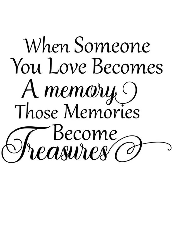 Download Memorial svg When Someone You Loves becomes a memory svg ...