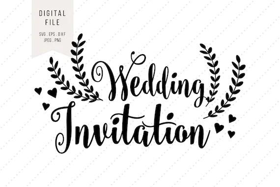 svg wedding invitation clipart love instant digital download svg eps dxf png jpeg