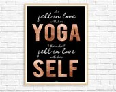 Yoga Art, Yoga Wall Art, ...