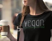 Vegan Mom Shirt Women'...