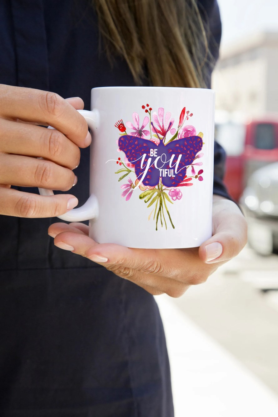 Beautiful Butterfly Mug B...