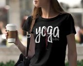 Boho Yoga Shirt Womens Yo...