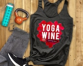 Yoga Wine Top, Wine Lover...