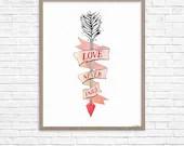 LOVE NEVER FAILS Printabl...