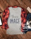 Blank Gray T Shirt Apparel Mockup Fashion Styled Stock Etsy