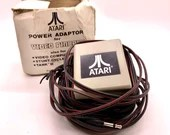 Vintage Atari Pinball Power Adaptor 15 Foot Cord Video Computer System Stunt Cycle Tank II