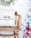 Christmas Mockup Pillow Mockup Throw Pillow Mockup Etsy